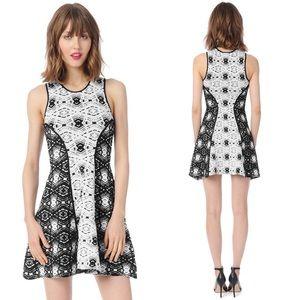 Parker 'Naima' Jacquard Stretch Knit Dress